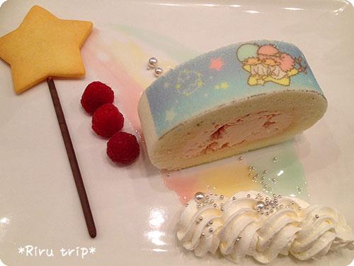 キキララロールケーキ