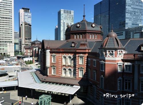 旧郵便局から見える景色