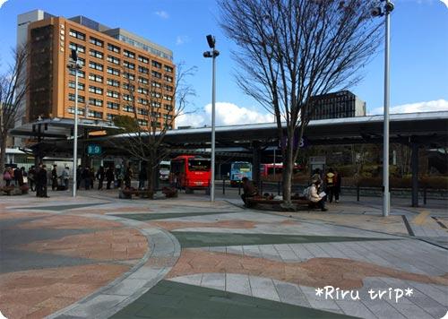 岐阜駅バス停