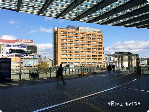 岐阜駅2階通路