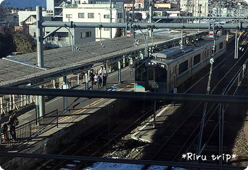 松本駅電車