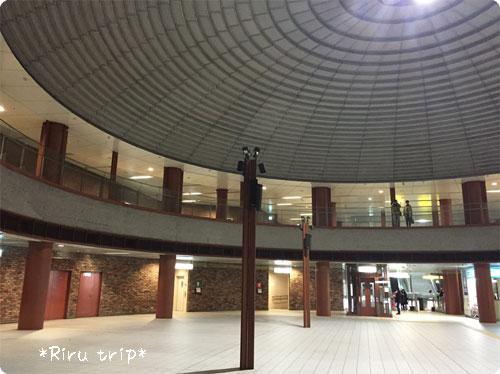 横浜駅改札ドーム