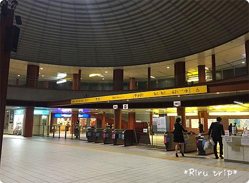 横浜駅改札ドーム2