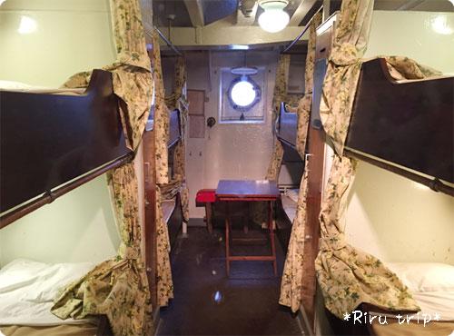 氷川丸三等室
