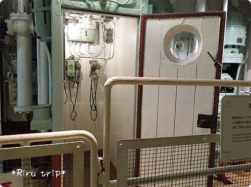 氷川丸機関室5