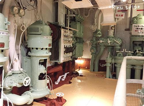 氷川丸機関室6